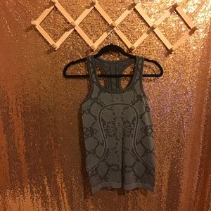 Lululemon Swiftly Tech Python Snake Print Tank Top